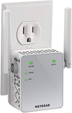 ihocon: NETGEAR Wifi Range Extender EX3700 - Coverage Up to 1000 Sq.ft. and 15 devices網路訊號增強器