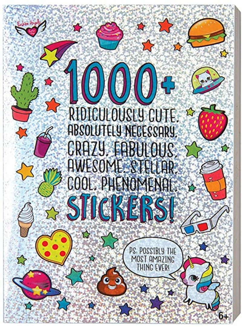 ihocon: Fashion Angels 1000+ Ridiculously Cute Stickers 兒童貼紙書