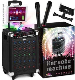 ihocon: Karaoke Wireless Microphone Speaker Machine with Disco Ball 卡拉OK伴唱機