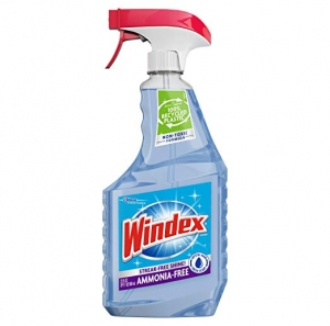 ihocon: Windex Ammonia-Free Glass Cleaner Trigger Bottle, Crystal Rain, 23 Fl Oz 玻璃清潔劑