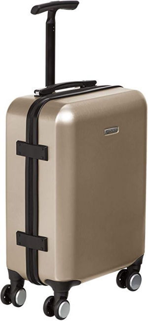 ihocon: AmazonBasics Hardshell Spinner Suitcase with Built-In TSA Lock, 22-Inch 硬殼行李箱