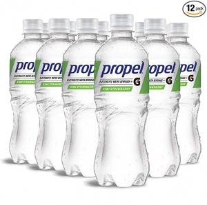 ihocon: Propel, Kiwi Strawberry, Zero Calorie Sports Drinking Water with Electrolytes and Vitamins C&E, 16.9 Fl Oz (12 Count) 零卡路里水果口味運動飲料, 含電解質