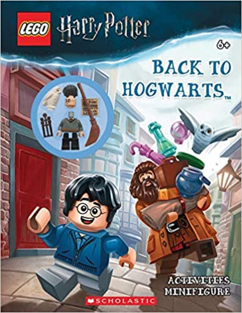 ihocon: LEGO Harry Potter: Back to Hogwarts Activity Book with Minifigure 樂高哈利·波特