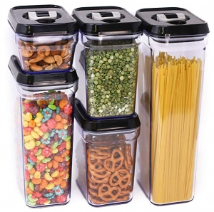 ihocon: Zeppoli Air-Tight Food Storage Container Set - 5-Piece Set 密封罐