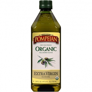 ihocon: Pompeian Organic Extra Virgin Olive Oil - 24 Ounce 有機特級初榨橄欖油