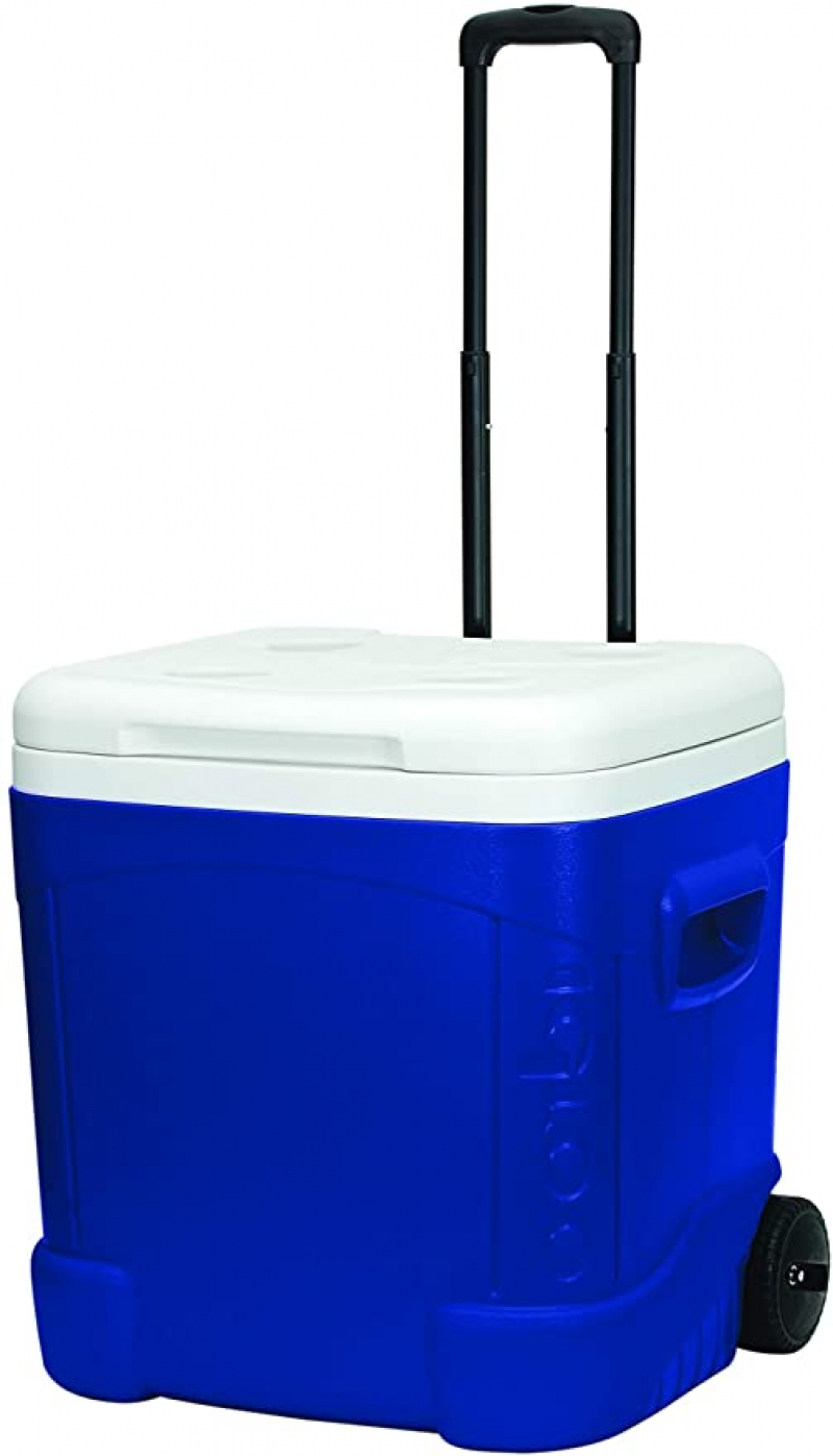 ihocon: Igloo Ice Cube 60 Quart Roller Cooler 有輪保冷箱
