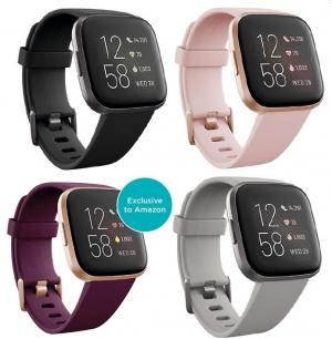 ihocon: Fitbit Versa 2 Smartwatch 心率/運動追踪智能錶 - 多色可選