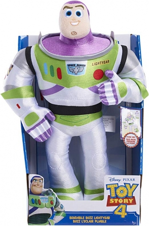 ihocon: Toy Story 4 Bendable Buddies 玩具總動員4 13吋Buzz Light-year