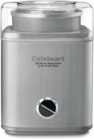 ihocon: Cuisinart ICE-30BC Pure Indulgence 2-Quart Automatic Frozen Yogurt, Sorbet, and Ice Cream Maker 冰淇淋機