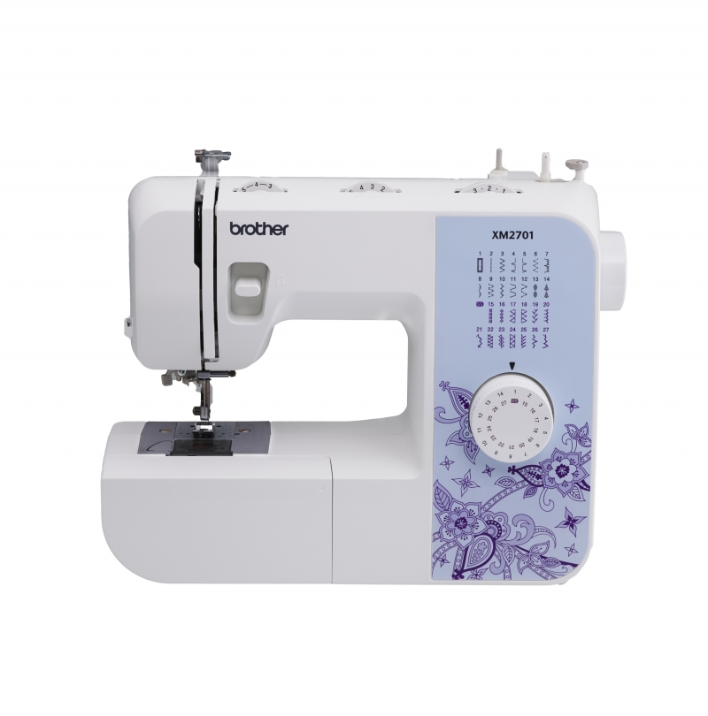 ihocon: Brother Brother XM2701 Lightweight, Full-Featured Sewing Machine with 27 Stitches 縫紉機