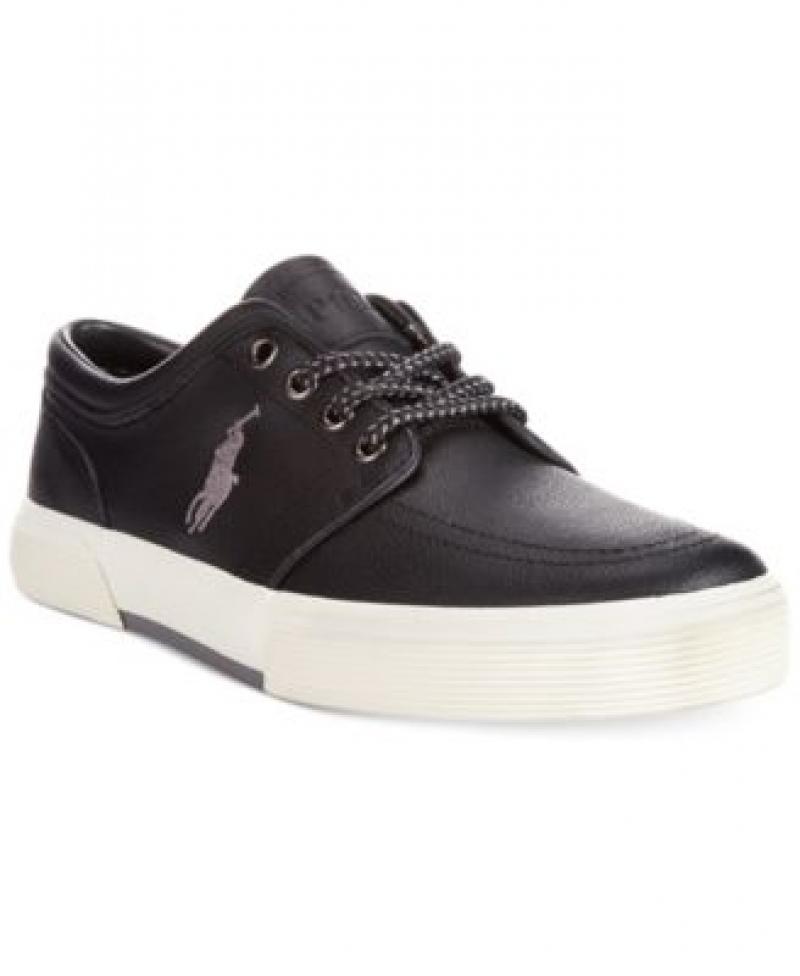 ihocon: Polo Ralph Lauren Faxon Low Leather Sneakers 男鞋
