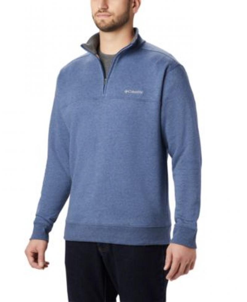 ihocon: Columbia Men's Hart Mountain II Half-Zip Fleece Sweatshirt 男士長袖衫-多色可選
