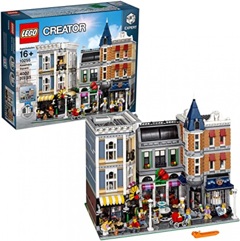ihocon: LEGO Creator Expert Assembly Square 10255 Building Kit (4002 Pieces)
