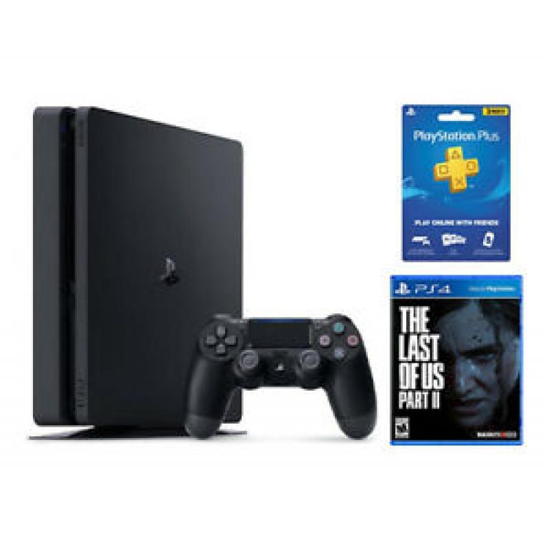 ihocon: PlayStation 4 Slim 1TB + The Last of Us Part 2 + 3 Month PS Plus Membership