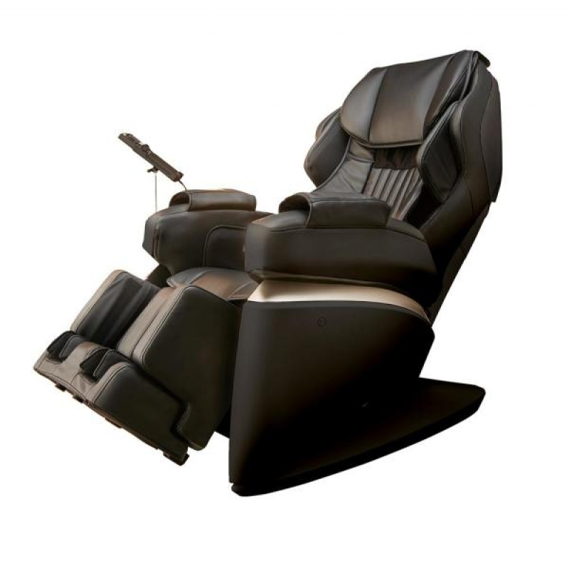 ihocon: Synca Wellness Kurodo Black Commercial Grade Synthetic Leather Executive Level Commercial Massage Chair  商用級按摩椅