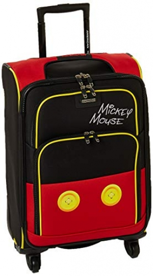 ihocon: American Tourister Disney Softside Luggage with Spinner Wheels 迪士尼行李箱