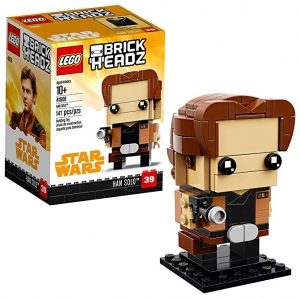 ihocon: LEGO BrickHeadz Han Solo 41608 Building Kit (141 Piece)