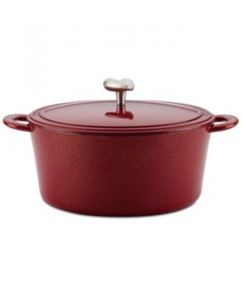 ihocon: Ayesha Curry 6-Qt. Enameled Cast Iron Dutch Oven & Lid 搪瓷鑄鐵鍋