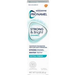 ihocon: Sensodyne Pronamel Strong and Bright Enamel Toothpaste for Sensitive Teeth, to Reharden and Strengthen Enamel, Extra Fresh - 3 Ounces 敏感齒琺瑯質強化牙膏