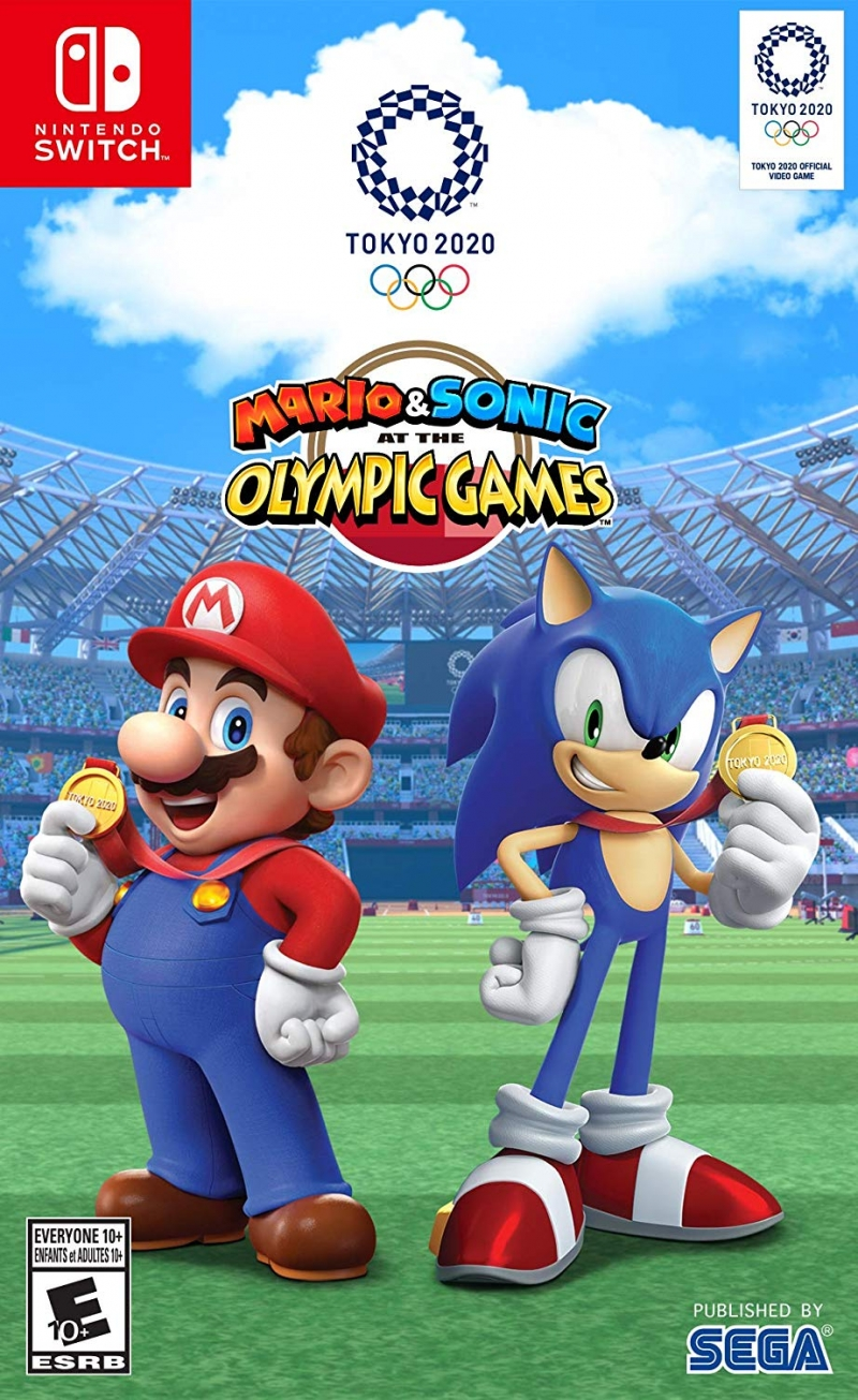 ihocon: Nintendo Switch遊戲 - Mario & Sonic at the Olympic Games: Tokyo 2020 東京奧運