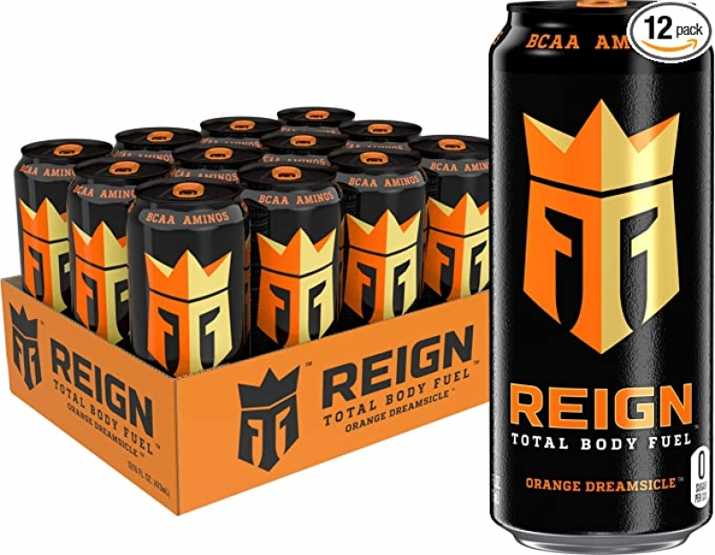ihocon: Reign Total Body Fuel, Orange Dreamsicle, Fitness & Performance Drink, 16 Fl Oz (Pack of 12) 運動健身飲料