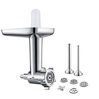 ihocon: Gvode Metal Food Grinder Attachment for KitchenAid Stand Mixers Including Sausage Stuffer Accessory 絞肉/灌香腸配件