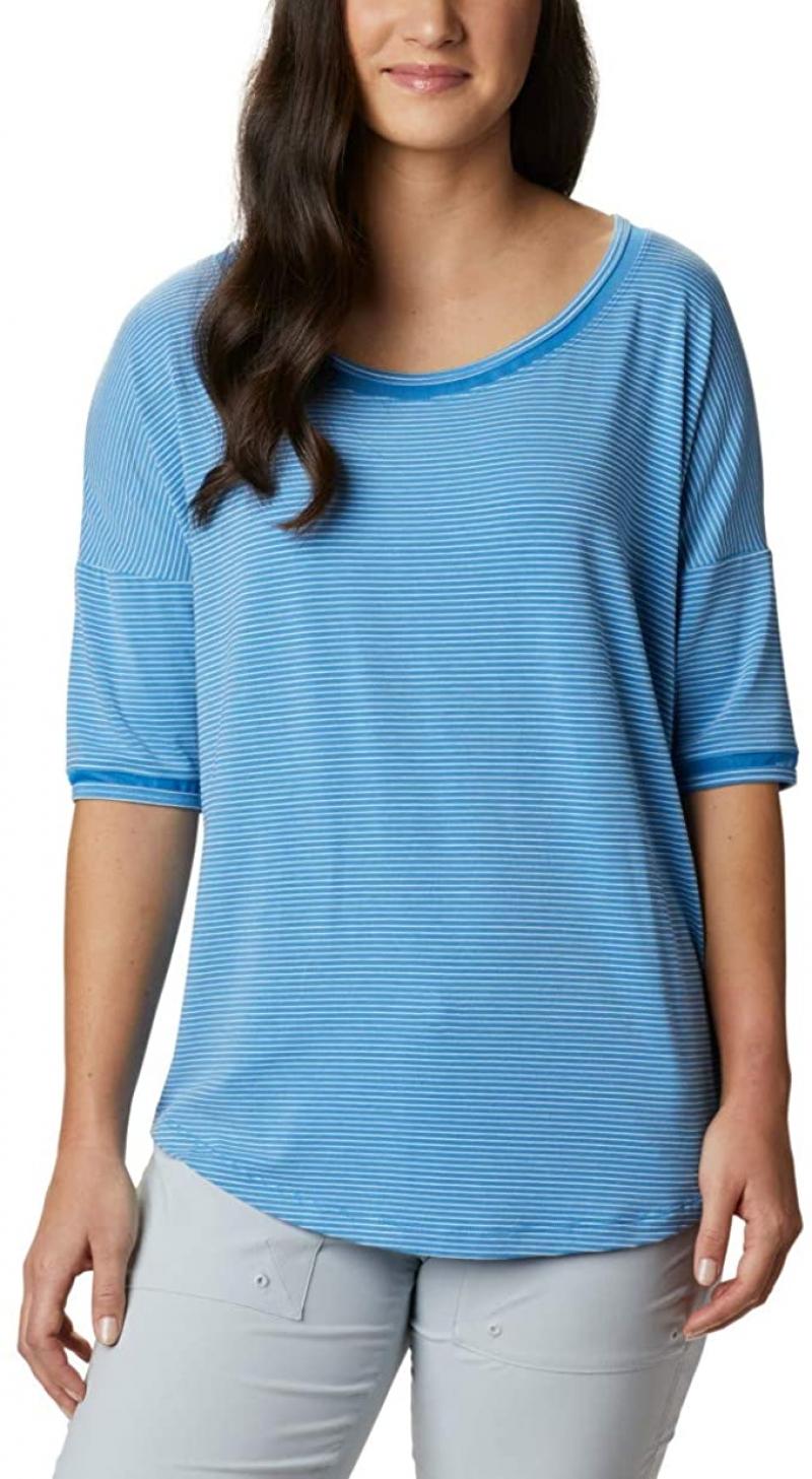 ihocon: Columbia Women's Slack Water Knit 3/4 Sleeve 女士上衣