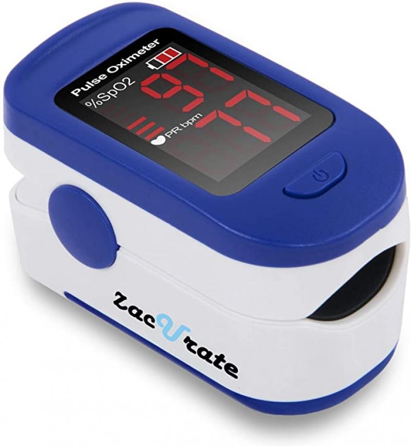 ihocon: Zacurate 500BL Fingertip Pulse Oximeter 血氧監測儀