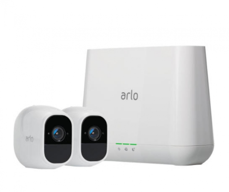 ihocon: Netgear Arlo Pro 2 Indoor/Outdoor 2-Camera Wireless 1080p Security Camera System with 2 Wire-Free Rechargeable Battery Cameras Kit 居家安全無線監視鏡頭