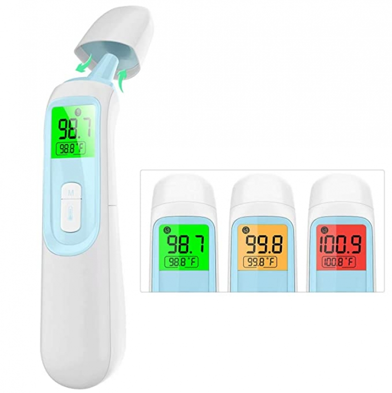 ihocon: Sheevol Beauty Touchless Infrared Digital Forehead/Ear Thermometer with Fever Alarm and Memory Function 前額體溫計