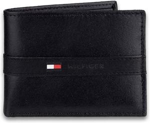 ihocon: Tommy Hilfiger Men's Leather Wallet男士皮夾