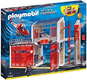 ihocon: PLAYMOBIL Fire Station 組合玩具-消防區