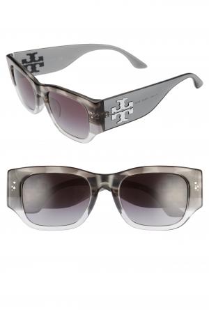 ihocon: TORY BURCH 52mm Gradient Rectangular Sunglasses 太陽眼鏡