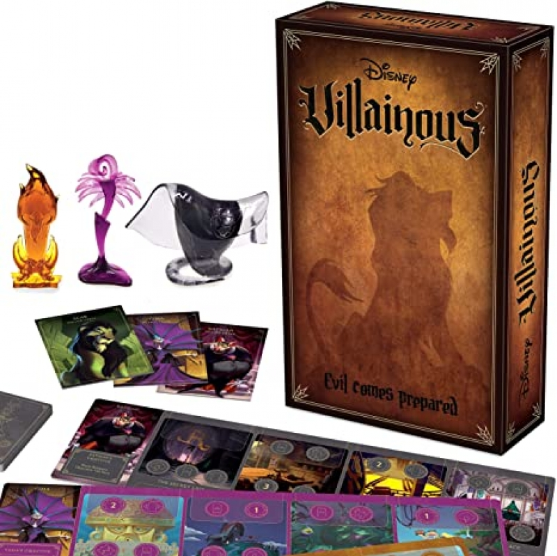 ihocon: 桌遊Ravensburger Disney Villainous: Evil Comes Prepared Strategy Board Game
