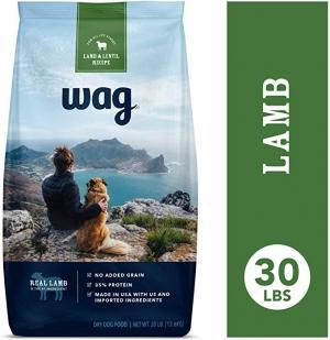 [Amazon自家品牌] Wag 乾狗糧額外減價, 像是30磅才 $20.70免運(原價$45.99)