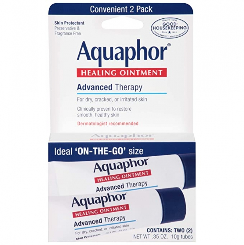ihocon: Aquaphor Advanced Therapy Healing Ointment Skin Protectant To Go Pack, 2-0.35
