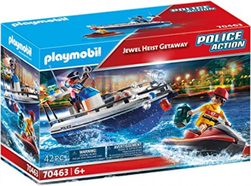 ihocon: Playmobil Jewel Heist Getaway 42-piece組合玩具