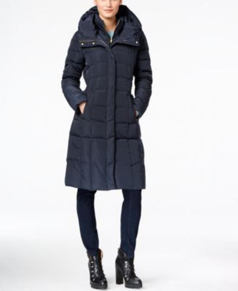 ihocon: Cole Haan Box-Quilt Down Puffer Coat 女士羽絨大衣-多色可選