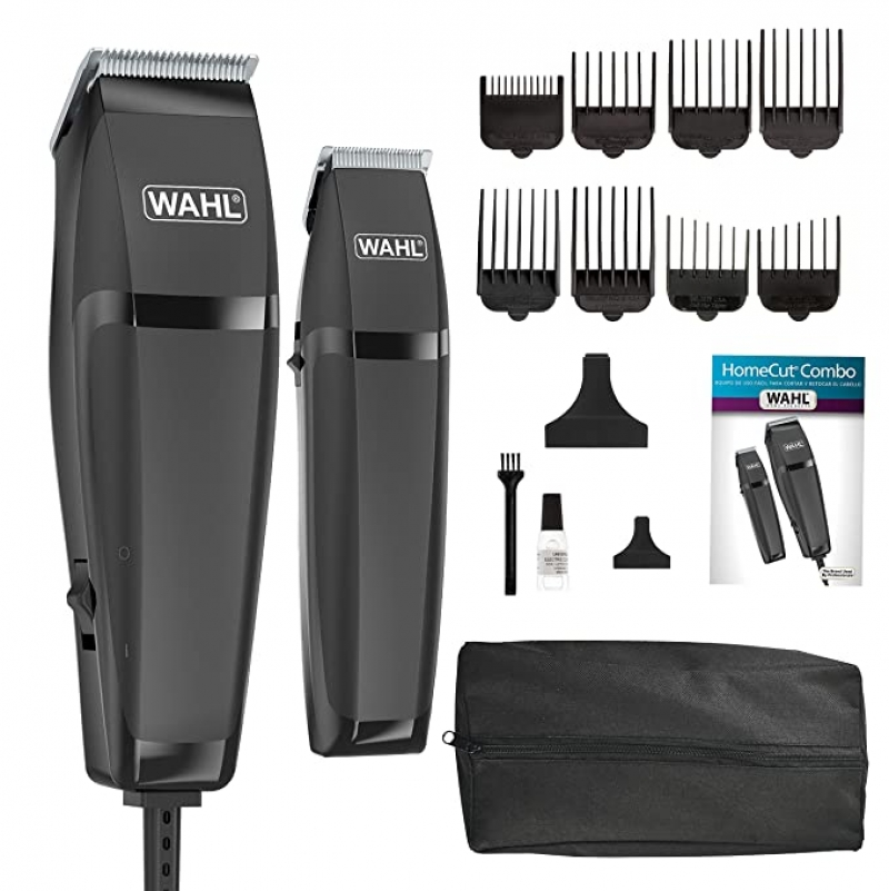 ihocon: Wahl Clipper Combo Pro 14 Piece Styling Kit with Hair Clipper and Beard Trimmer for Total Body Grooming 電動理髮/除毛器