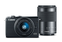ihocon: Canon EOS M100 Mirrorless Camera w/ 15-45mm Lens & 55-200mm Lens