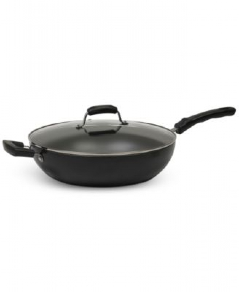 ihocon: Sedona 7.5-Qt. Jumbo Nonstick Covered Wok Pan含蓋不沾鍋