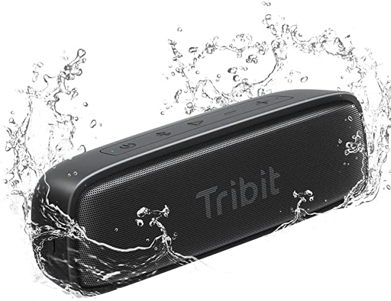 ihocon: Tribit IPX7 Waterproof Bluetooth Speaker, 12W 便攜防水藍牙無線揚聲器