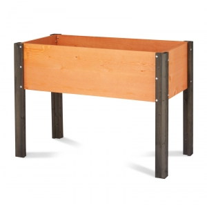 ihocon: Coral Coast Bloomfield Wood Raised Garden Bed - 40L x 20D x 29H in. 架高種殖菜圃