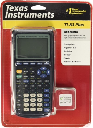 ihocon: Texas Instruments TI-83 Plus Graphing Calculator 德州儀器繪圖計算機