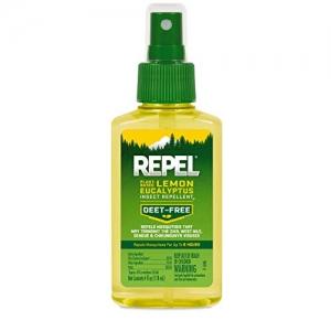 ihocon: REPEL Plant-Based Lemon Eucalyptus Insect Repellent, Pump Spray, 4-Ounce 植物提鍊驅蟲/驅蚊劑