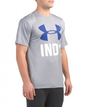 ihocon: UNDER ARMOUR Big Logo Indy Tech Tee 男士