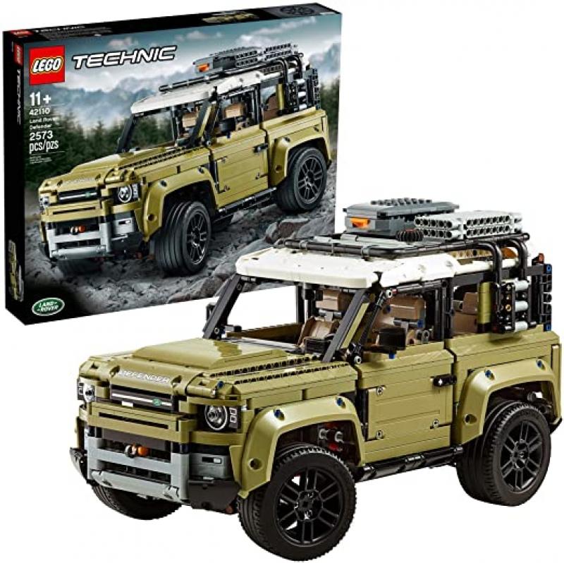 ihocon: 樂高積木LEGO Technic Land Rover Defender 42110 Building Kit (2573 Pieces)