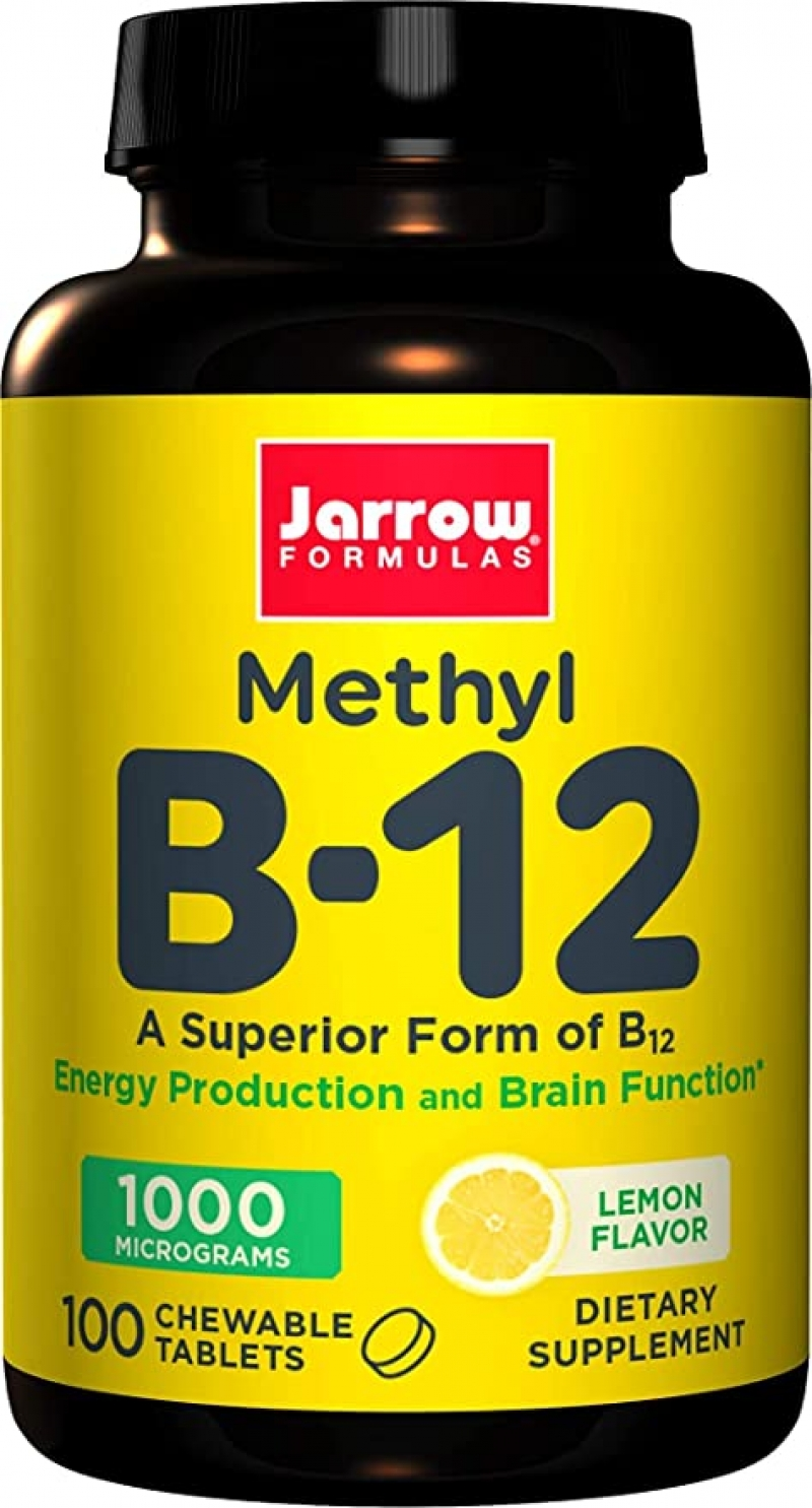 ihocon: Jarrow Formulas Methyl B12 1,000 mcg Lozenges, 100 ct  維他命B12