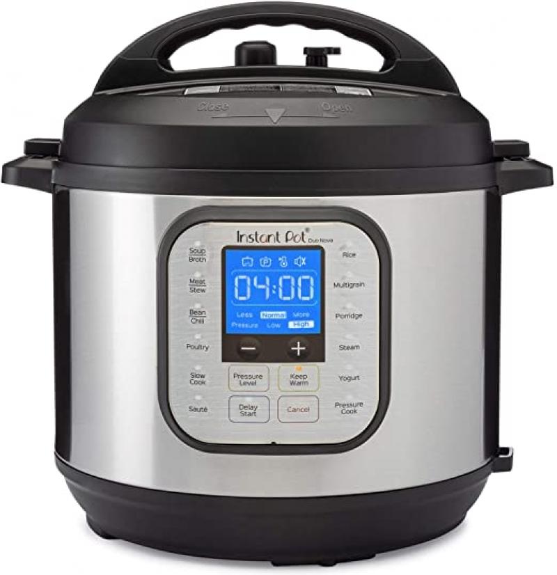 ihocon: Instant Pot Duo Nova Pressure Cooker 7合1, 6Qt 多功能電壓力鍋