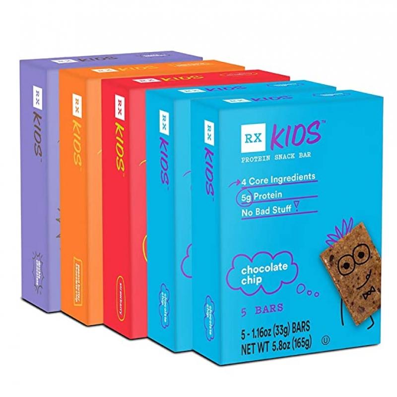 ihocon: RXBAR, RX Kids Protein Snack Bar, Variety Pack, 1.16oz Bars, 25ct 兒童蛋白質棒